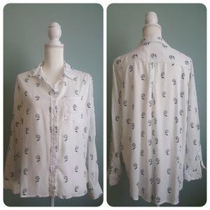 Velvet Heart White Shirt